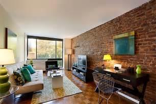 living room with brick wallpaper 28 inspira 231 245 es para voc 234 se apaixonar pelo tijolinho 224 vista limaonagua