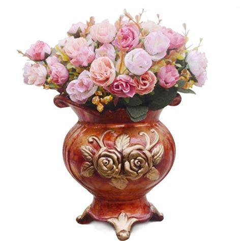 roses artificial flowers wedding decoration centerpieces