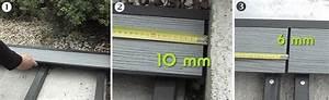 Pose Lame Terrasse Composite : poser une terrasse composite sur lambourdes composites ~ Premium-room.com Idées de Décoration