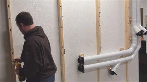 lumber storage rack    pipe  garage wood shop