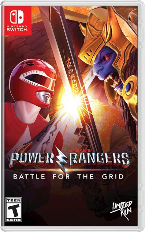 Nintendo Switch Power Rangers: Battle for the Grid (Usa ...