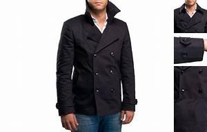 Trench Coat Homme Long : trench court homme vraiment branch et l gant ~ Nature-et-papiers.com Idées de Décoration