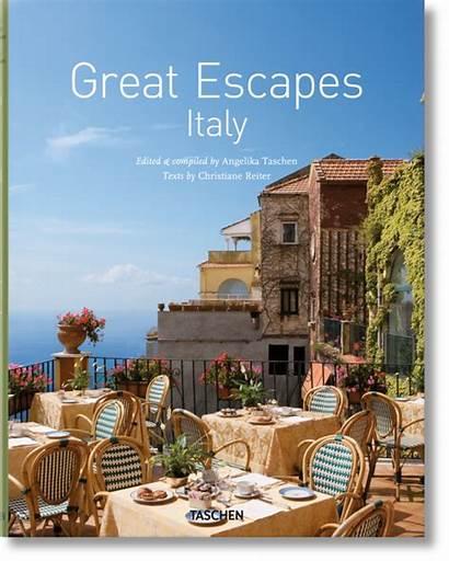 Italy Escapes Books Taschen Travel Edicion Lifestyle
