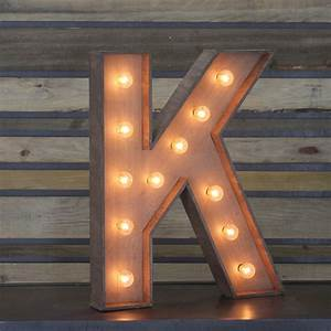 Edison marquee letter quotkquot town country event rentals for B marquee letter