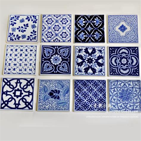blue and white porcelain tile blue and white porcelain cup