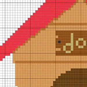 Dog Food Quantity Chart Charts Club Members Only Cute Dog House Cross Stitch