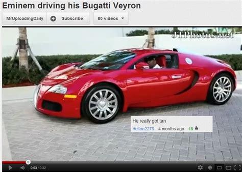 Eminem Driving His Bugatti Veyron