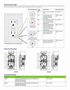 Gk 2392  Afci Outlet Wiring Diagram Wiring Diagram