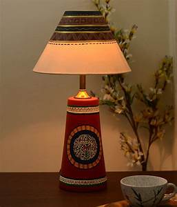 Where Can I Buy Light Fixtures Unravel India Terracotta Lamp Shade With Madhubani Hand