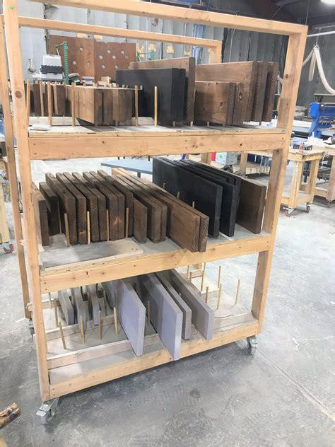 staining shelves custom shelving open shelves modern