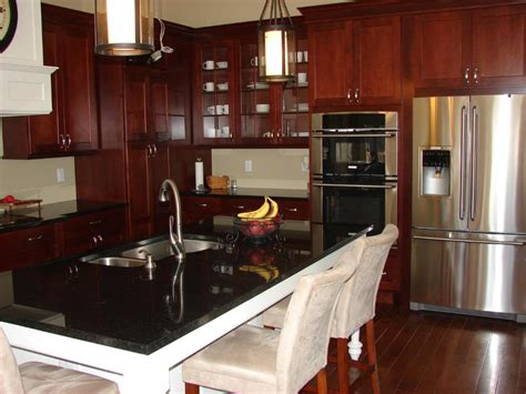 black cupboards kitchen ideas kitchen kitchen color ideas with oak cabinets and black