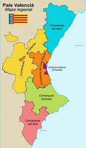 Anexo Regiones De La Comunidad Valenciana