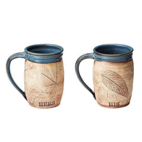 Previous next 1 / 34. His or Her Woodland Mug | pottery mugs | UncommonGoods