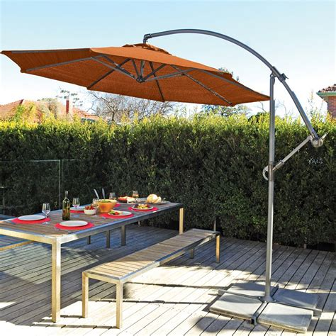 coolaroo 12 ft cantilever patio umbrella patio