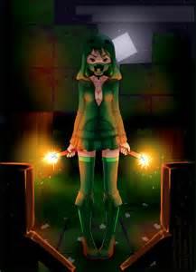 Minecraft Creepers Anime Girl
