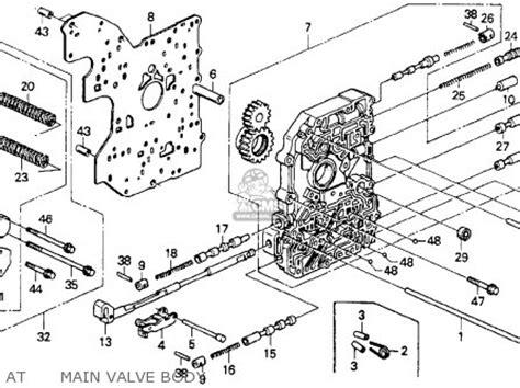 online service manuals 1990 honda accord parking system honda accord 1990 l 2dr dx ka kl parts lists and schematics