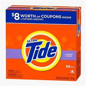 Tide 95 oz. Lavender Powder Laundry Detergent (68 Load ...