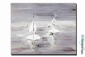 tableau gris voyage en mer grand format rectangle With couleur peinture pour couloir 15 tableau gris voyage en mer grand format rectangle