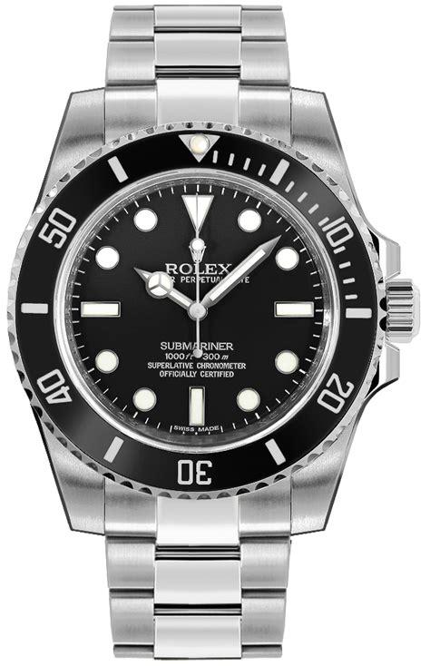114060 Rolex Submariner Oystersteel Men's Watch