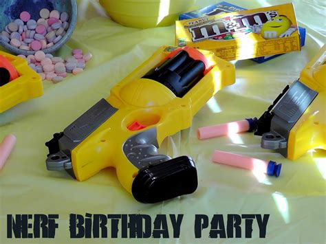 Rumbly Time Nerf Birthday Party