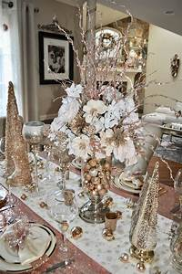 Pin, By, Maria, Olveira, Santucci, On, Rose, Gold, Christmas, Decor