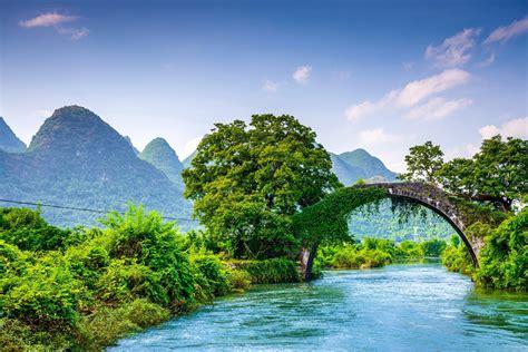 yulong Bridge, Bridge, Nature, Landscape Wallpapers HD ...