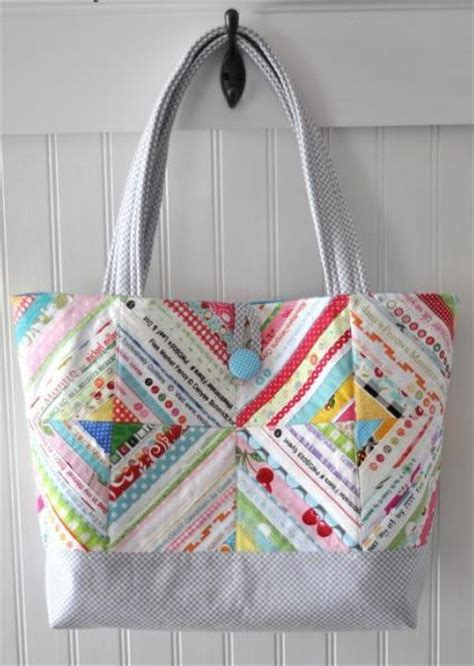 quilted tote bags summer sewing 7 quilted tote bag patterns