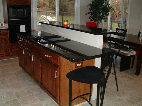 Bar Countertop by Tips To Sleek And Neat Kitchen Countertop Options