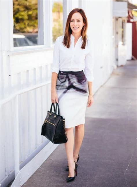 interview job wear outfits summer skirt pencil position casual help tips down outfit dress business sydnestyle jobs professional button getting