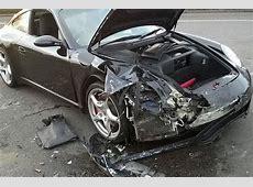 Porsche driver smashes supercar into BMW — but walks away