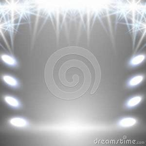 White Neon Background Stock Vector Image