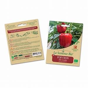 Poivron Petit Marseillais : semences bio l gumes fruits vivre la boutique ~ Melissatoandfro.com Idées de Décoration