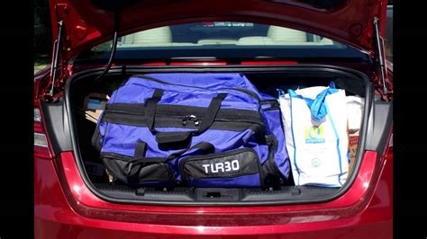 Trunk Space by Ford Fusion Trunk Dimensions Auto Express