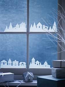 Decoration De Noel Pour Fenetre A Faire Soi Meme : stickers no l et id es de d co fen tre pour les f tes ~ Melissatoandfro.com Idées de Décoration