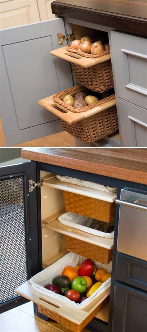 15 Insanely Cool Ideas for Storing Fresh Produce