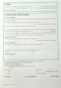 Contrat De Location Non Meublée Gratuit by Feuille Quot Contrat De Location Pour Locaux Non Meubles