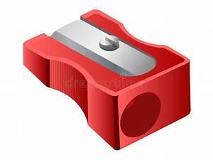 Vector Pencil Sharpener stock vector. Illustration of ...