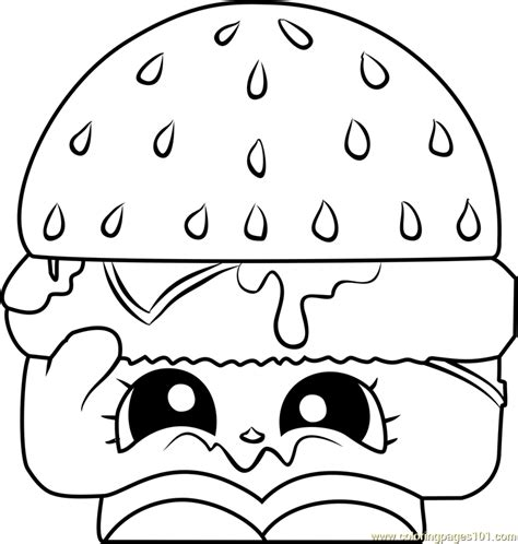cheezey  shopkins coloring page  shopkins coloring
