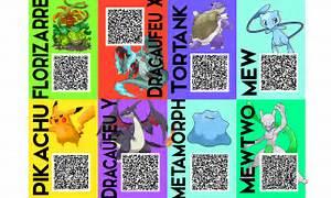 shiny pokemon qr codes images