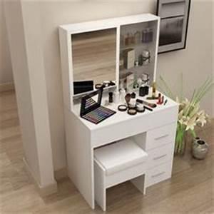 Table De Maquillage Ikea : coiffeuse meuble ikea table de lit ~ Nature-et-papiers.com Idées de Décoration