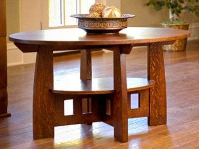 limbert style coffee table printed plan craftsman style
