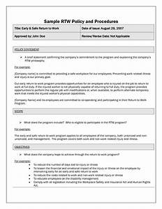 Company Policies And Procedures Template Best Photos Of Policies And Procedure Examples Sample Policy And Procedure Format Policy And