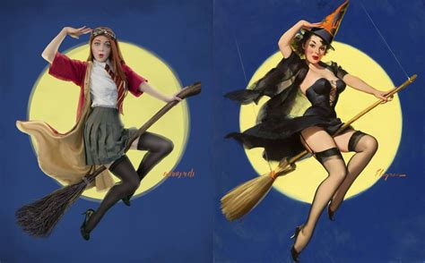 Ginny Weasley In Quidditch Harry Potter Pinup Cosplay