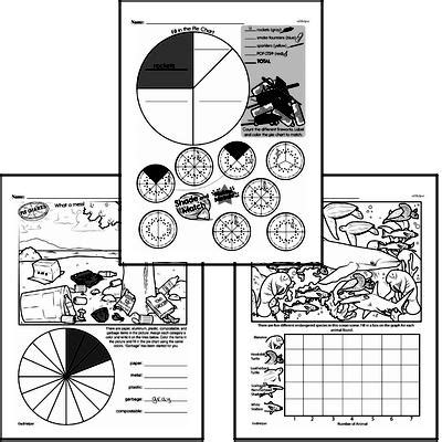 grade data worksheets collecting  organizing