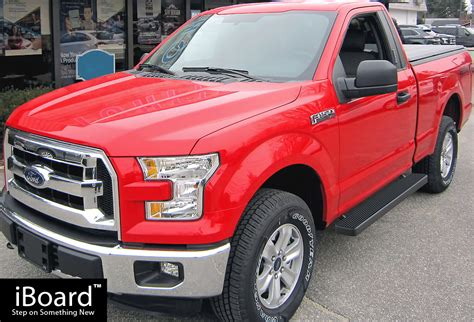 iboard running boards  fit   ford  regular cab