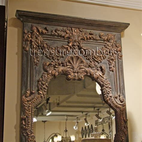 floor mirror ornate ornate floor mirror laurensthoughts com