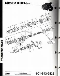Np 261 Transfer Case Parts Diagram  Np  Free Engine Image For User Manual Download