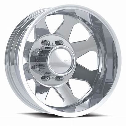 Dually Wheels Polished Lug Eagle American Tires