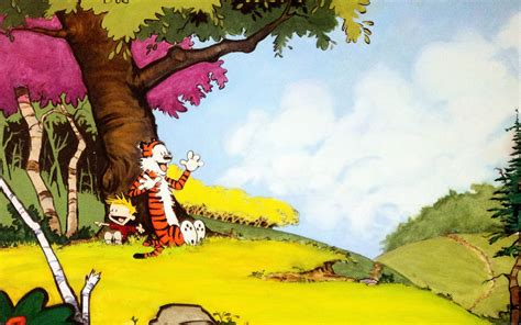 Calvin And Hobbes Wall Paper Ac48 Wallpaper Calvin And Hobbes After Nap Papers Co
