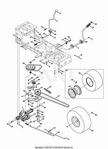 Troy Bilt 13wn77ks066 Pony  2013  Parts Diagram For
